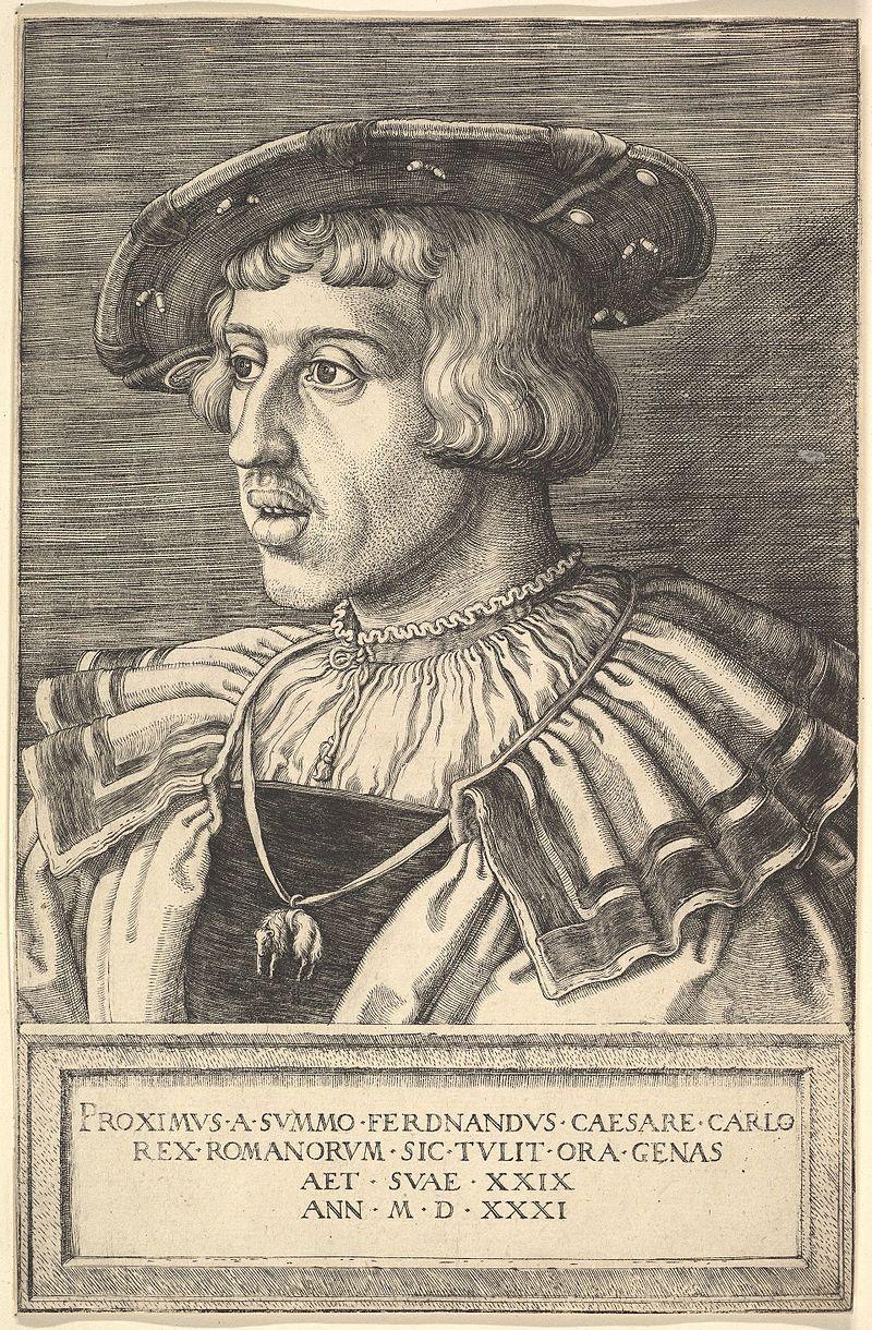 Ferdynand Habsburg. Ojciec Elżbiety Habsburżanki