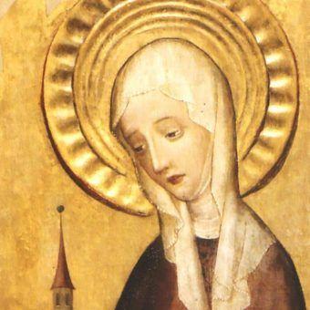 XV-wieczne wyobrażenie  św. Jadwigi Śląskiej.
