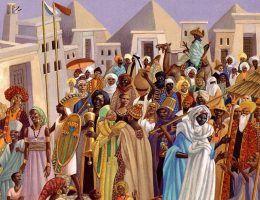Legendy o afrykańskim Eldorado nie dawały Europejczykom spokoju. Zwłaszcza ta o chodnikach pokrytych złotem...