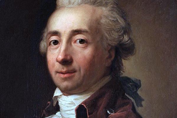 Michał Hieronim Radziwiłł na portrecie pędzla Antona Graffa.