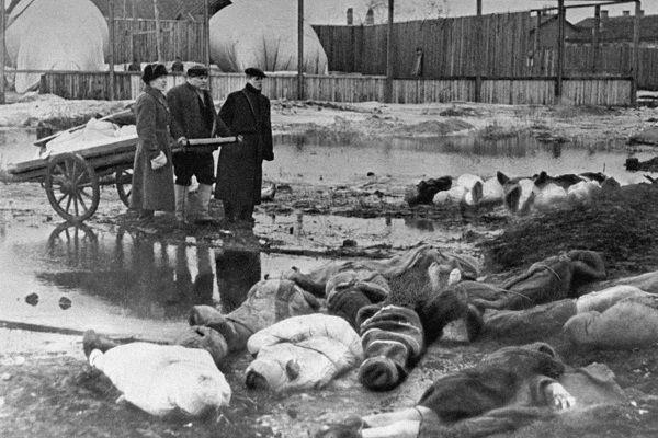 Ofiary oblężenia Leningradu.