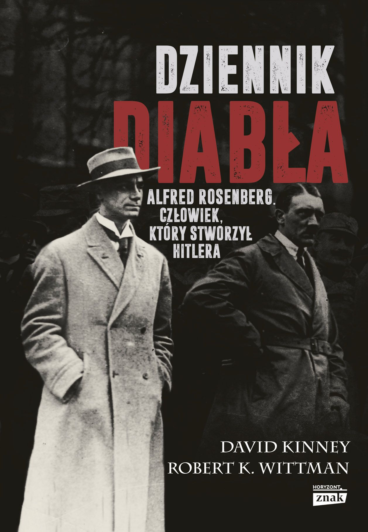 """Polecamy książkę Davida Kinney'a i Roberta K. Wittmana """"Dziennik diabła"""", wydaną nakładem wydawnictwa Znak Horyzont."""