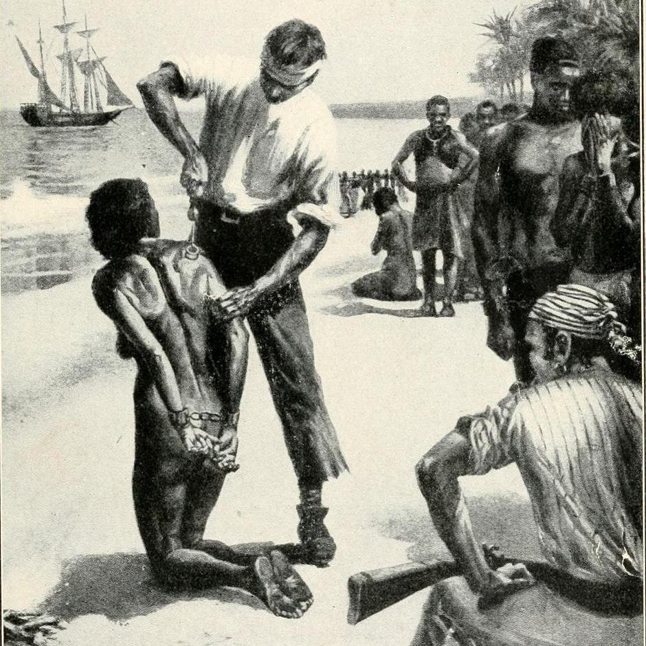 Czarny seks niewolnik