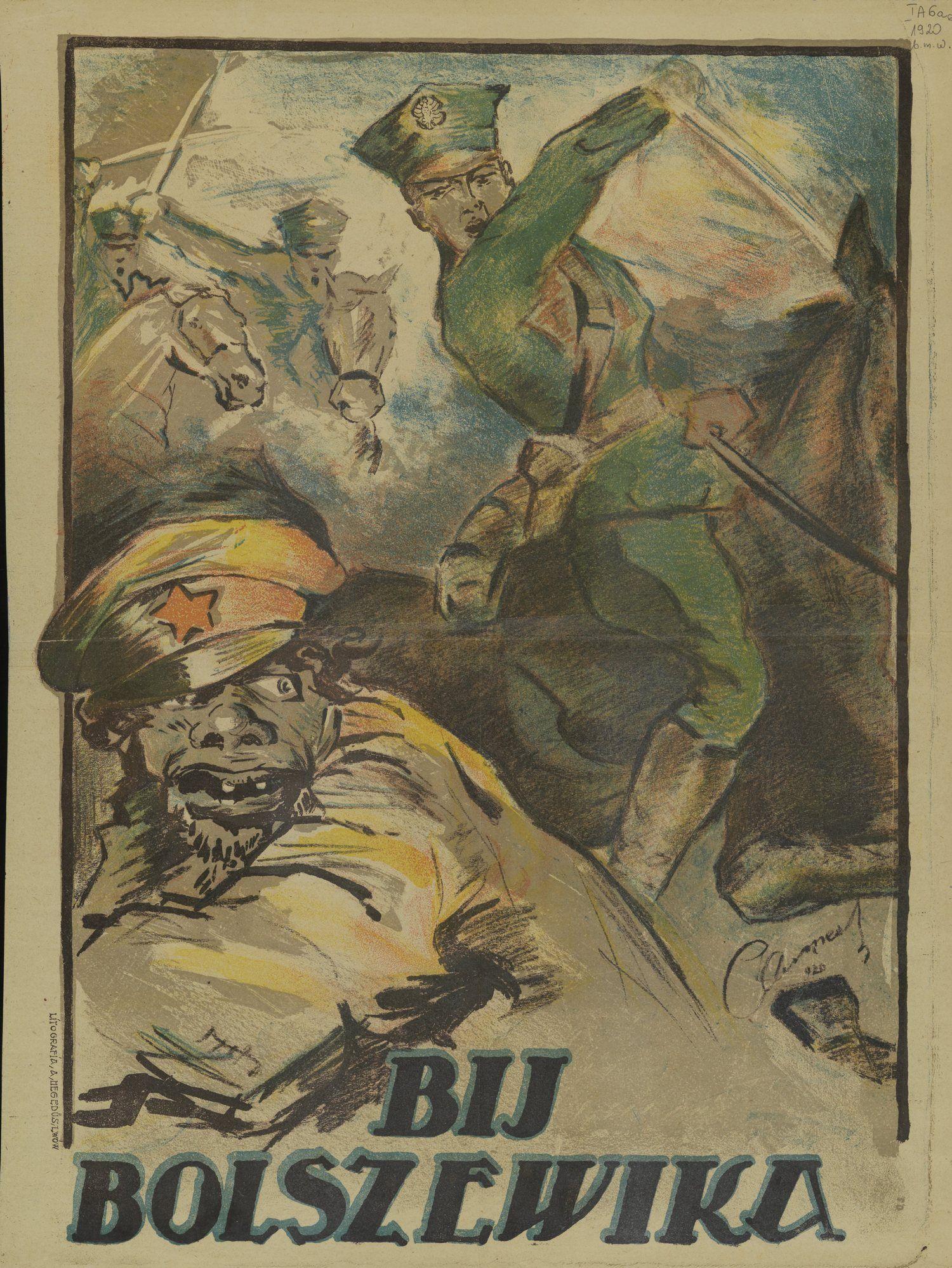 Najwięcej polskiej krwi przelano w walce o wschodnią granicę kraju. Szczególnie krwawa była wojna polsko-bolszewicka.