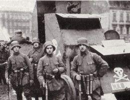 Niemcu co prawda przegrali Wielką Wojnę, ale w 1919 roku wciąż mieli setki tysięcy żołnierzy pod bronią.
