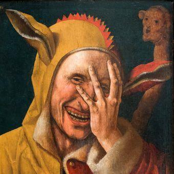 Do niektórych komentarzy warto podejść z przymrużeniem oka. Obraz niderlandzkiego malarza (prawdopodobnie Jacob Cornelisza van Oostsanena).
