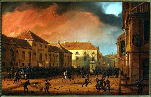 Marcin Zaleski, Wzięcie Arsenału, 1830.