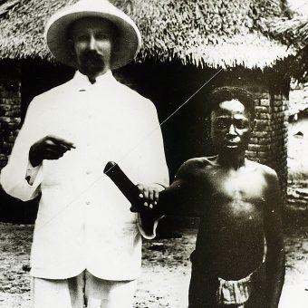 Jedna z milionów ofiar krwawych rządów Leopolda II w Kongo.