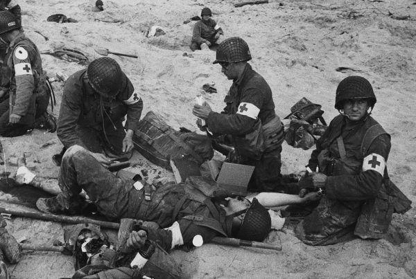 W walkach z Niemcami zginęło 170 tysięcy amerykańskich żołnierzy, kolejne 573 tysiące zostało rannych.