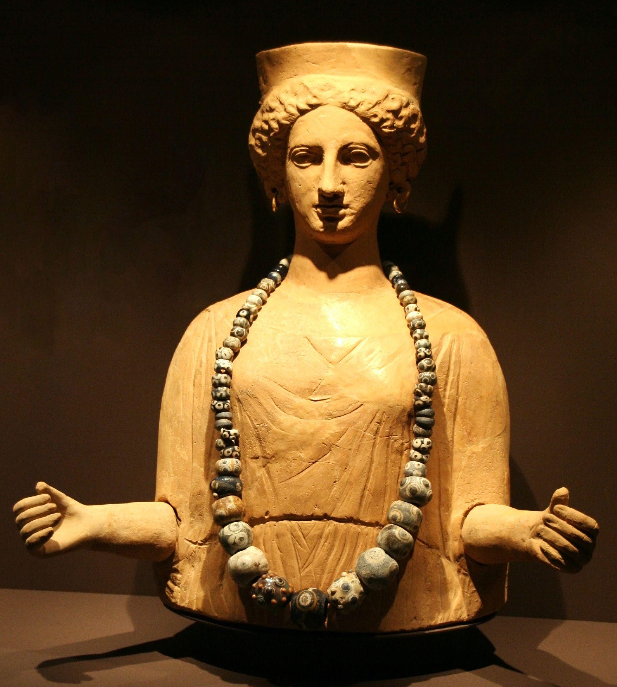 Jednym z kartagińskich bóstw była bogini Tanit. To jej małżonkowi składano ponoć ofiary z najmłodszych.