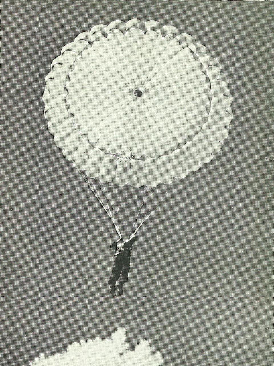 W szeregi spadochroniarzy dostawali się tylko najlepsi.