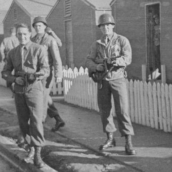 Żołnierze 506. Pułku Piechoty Spadochronowej w trakcie szkolenia w Camp Toccoa. 1942 rok.