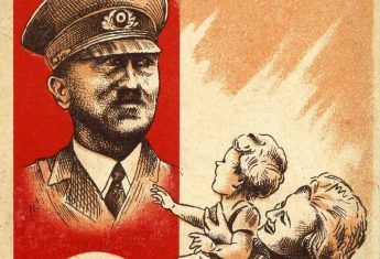 Aż trudno uwierzyć, że Polacy Hitlera... lubili. Mało tego, niektórzy wręcz go podziwiali. Na ilustracji fragment nazistowskiego plakatu propagandowego.
