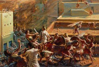 Gdy osięgnęła szczyt swojej potęgi, wdała się w serię wojen z Rzzymem, które zakończyły się zagładą miasta. Kartagina nie była jednak łatwym przeciwnikiem.