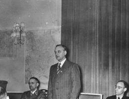 """Alfred Rosenberg był między innymi autorem """"Mitu XX wieku"""", jednego z głównych dzieł nazistowskiej ideologii."""