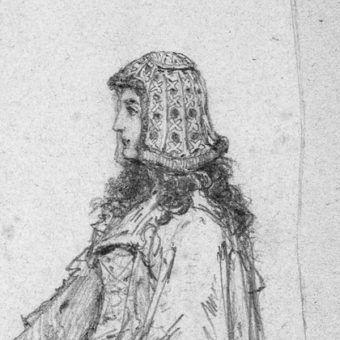 Adelajda Heska, wizerunek autorstwa Jana Matejki (fot. domena publiczna)