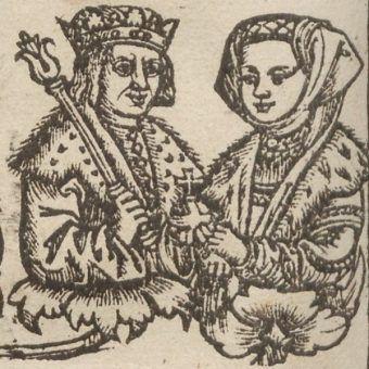 Aleksander Jagiellończyk i Helena Moskiewska (fot. domena publiczna)