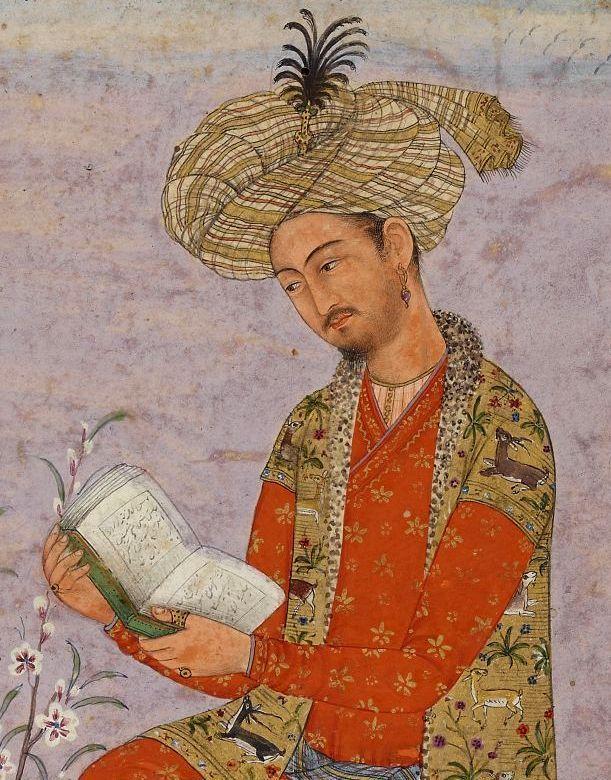 Babur był założycielem państwa Wielkich Mogołów. W swoich pamiętnikach, prócz wskazówek dotyczących sprawowania rządów, nierzadko opisywał także swoje pijackie ekscesy.
