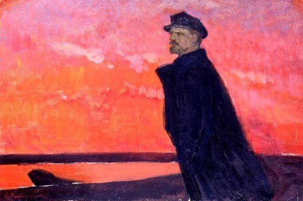 """Lenin sam rzadko angażował się w akcję. Także """"czerwony świt"""" oglądał raczej z dystansu."""