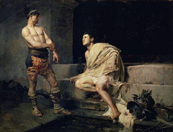Walki gladiatorów zostały formalnie zakazane dopiero w IV wieku naszej ery.