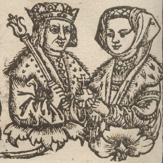 Helena Moskiewska i Aleksander Jagiellończyk.