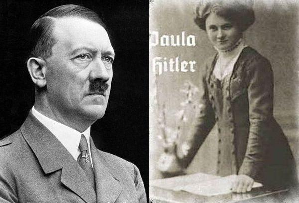 Adolf źle traktował również młodszą siostrę Paulę.