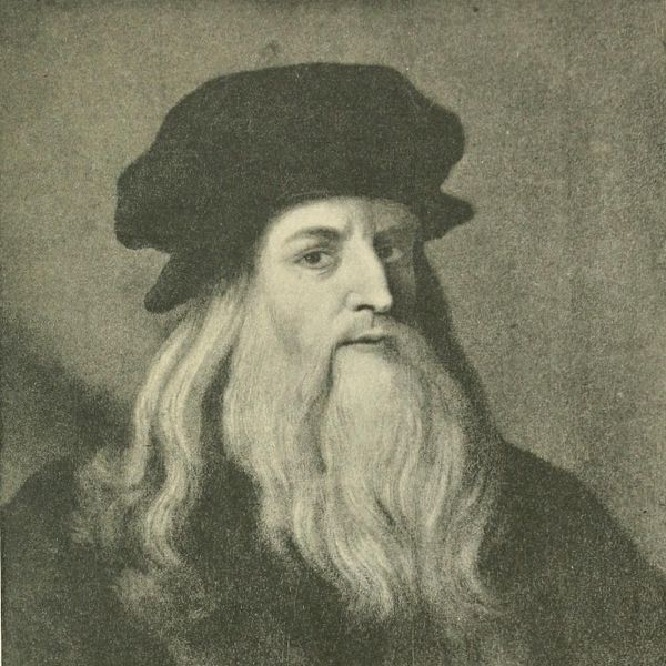 Leonardo da Vinci (fot. domena publiczna)