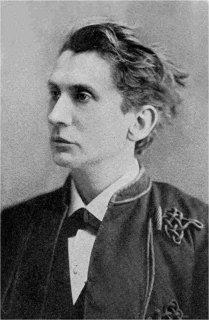 Leopold von Sacher-Masoch na fotografii portretowej