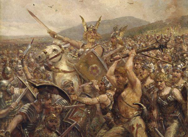 Arminiusz zwrócił się przeciwko Rzymowi, widząc sposób postępowania legionów w Germanii.
