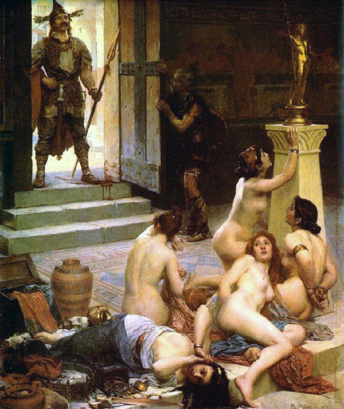 Brennusowi udało się zdobyć i złupić Rzym, choć ostatecznie nie zdobył Kapitolu.