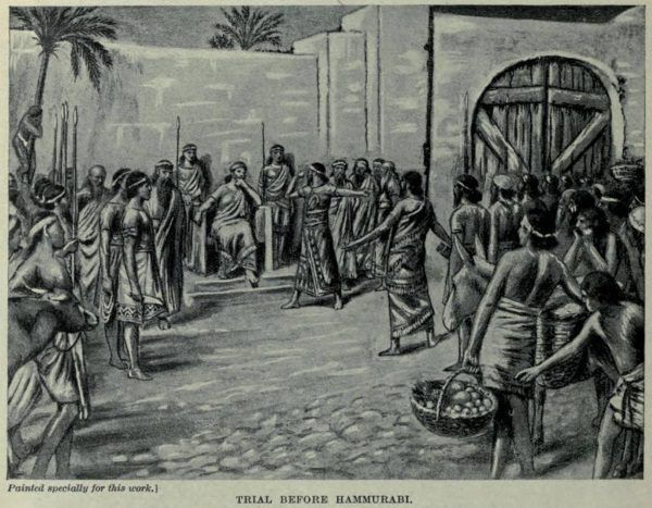 Proces przed obliczem Hammurabiego (Patrick Gray, lic. CC BY 2.0)