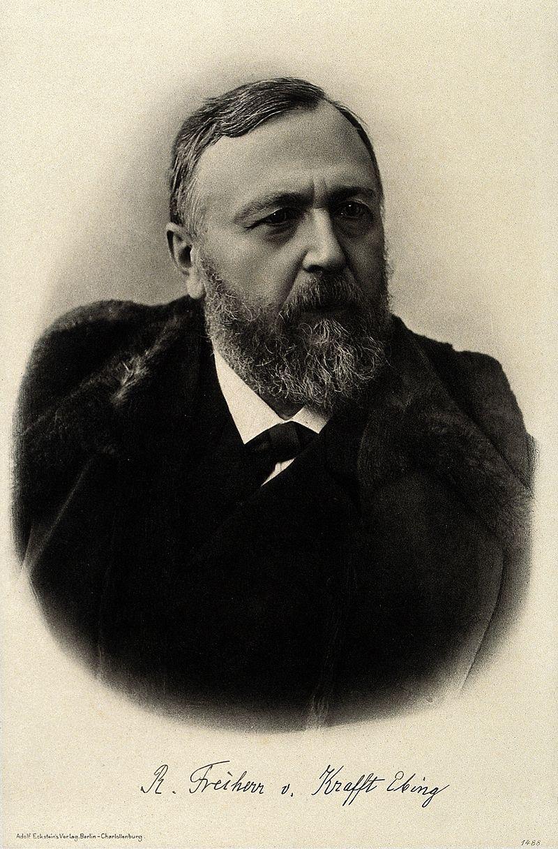 Richard von Krafft-Ebing na fotografii portretowej