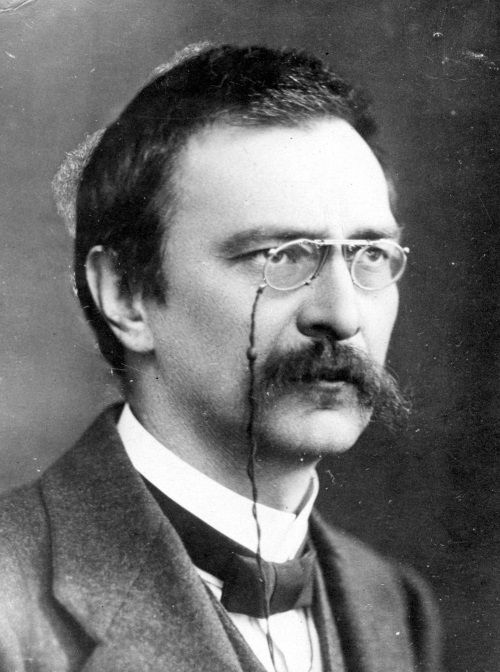 Stanisław Grabski na fotografii portretowej z początku lat 20.