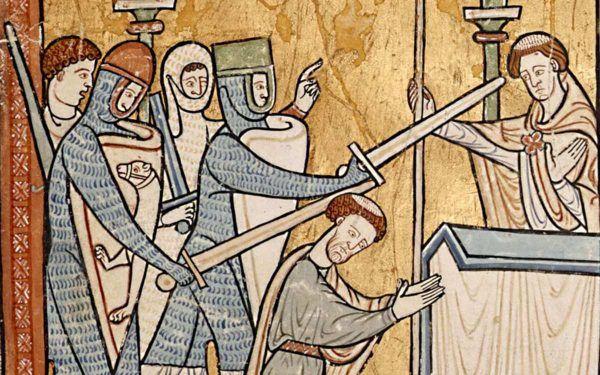 Thomas Becket został świętym zaledwie trzy lata po swojej męczeńskiej śmierci. Stanisław musiał na to czekać aż 200 lat. Daje to do myślenia.