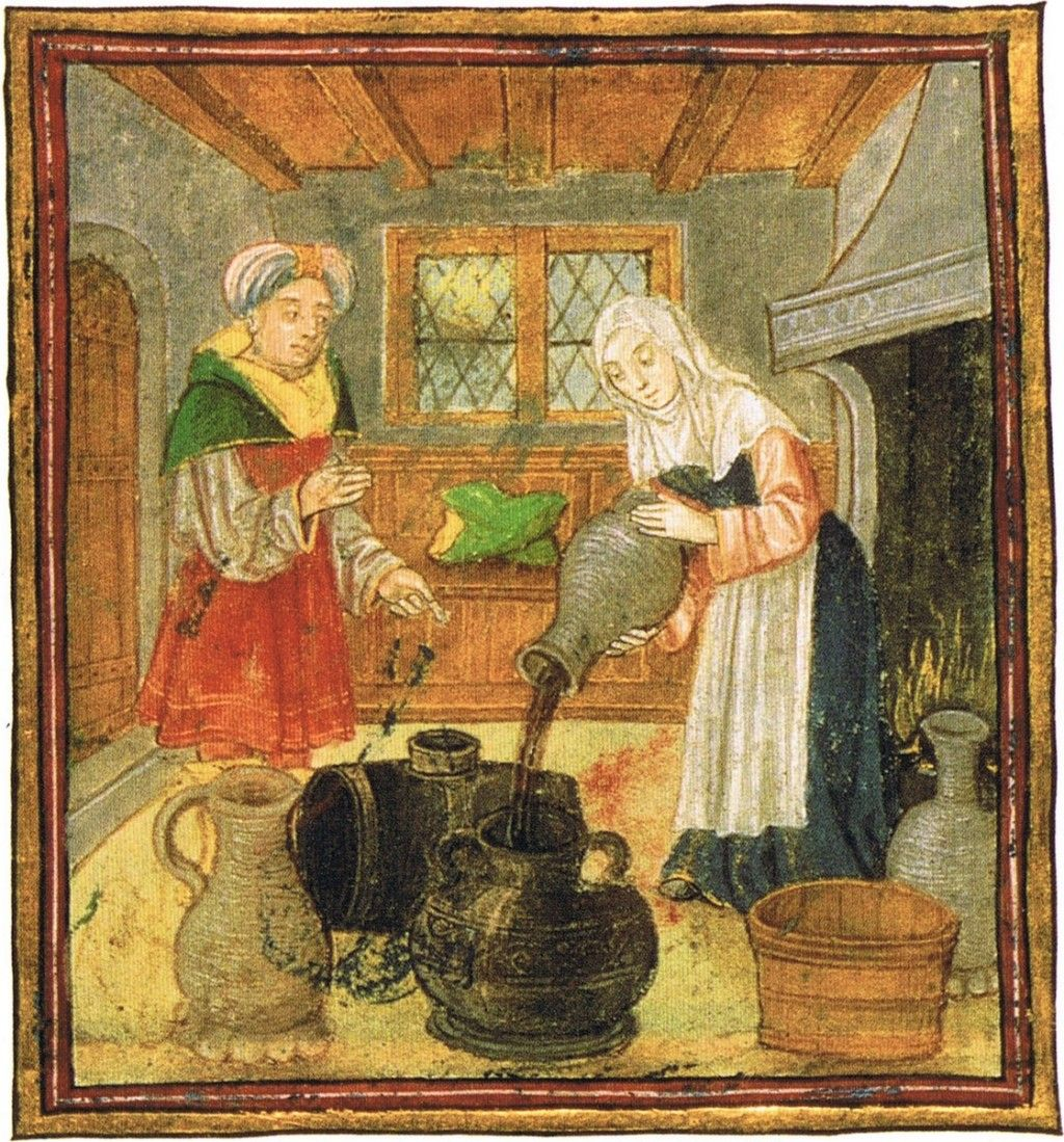 """Angielskie piwo """"ale"""" było w średniowiecznej Anglii bardzo ważne. Na tyle, że prócz piwowarów już wtedy istnieli kiperzy, testerzy jego jakości."""