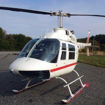 Za pomocą tego helikoptera dokonano jednego z największych napadów w historii Skandynawii. Szczęście czy misternie zaplanowany skok?