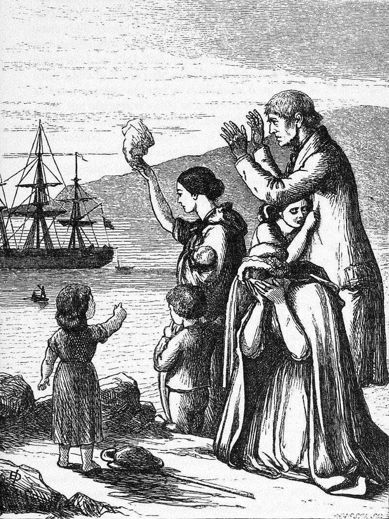 Brytyjczycy wiedzieli jak dobrowolnie skłonić rodaków do wyjazdu do pracy. Nie spodziewali się jednak, że na miejscu staną się zwykłymi niewolnikami.