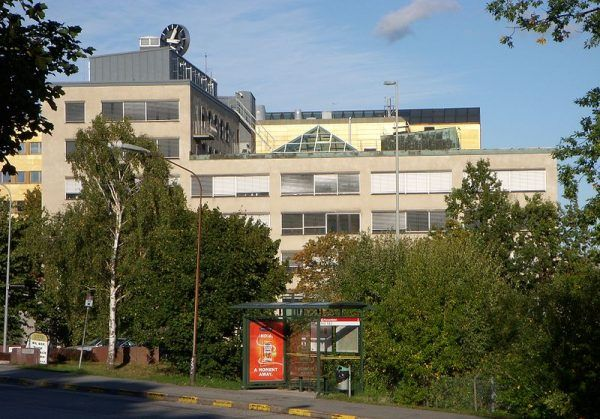 Budynek w Västberdze, czyli najlepiej strzeżony skarbiec w całej Europie. To tu miał miejsce napad z września 2009 roku.