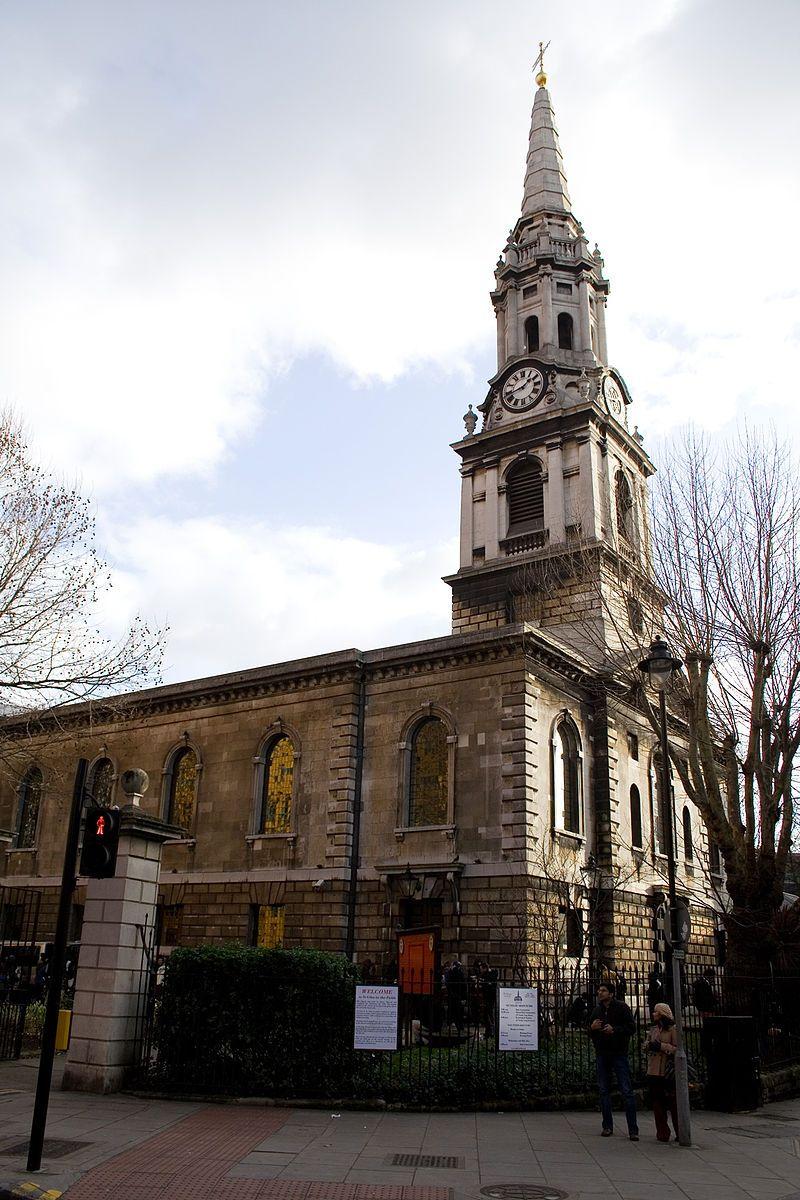 To właśnie w parafii St Giles-in-the-Fields zaczęła się zaraza, która spustoszyła Londyn. Na zdjęciu kościół parafialny.