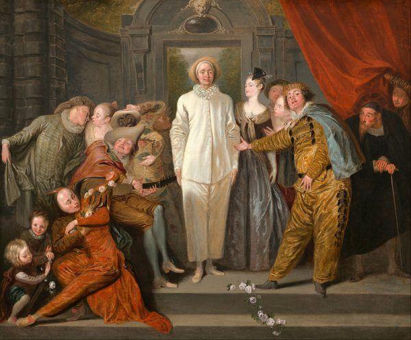 """Na tegorocznym Jarmarku Świętojańskim będzie można spotkać nie tylko alchemików, ale i prawdziwych komediantów. Obraz Antoine Watteau """"Komedianci włoscy""""."""