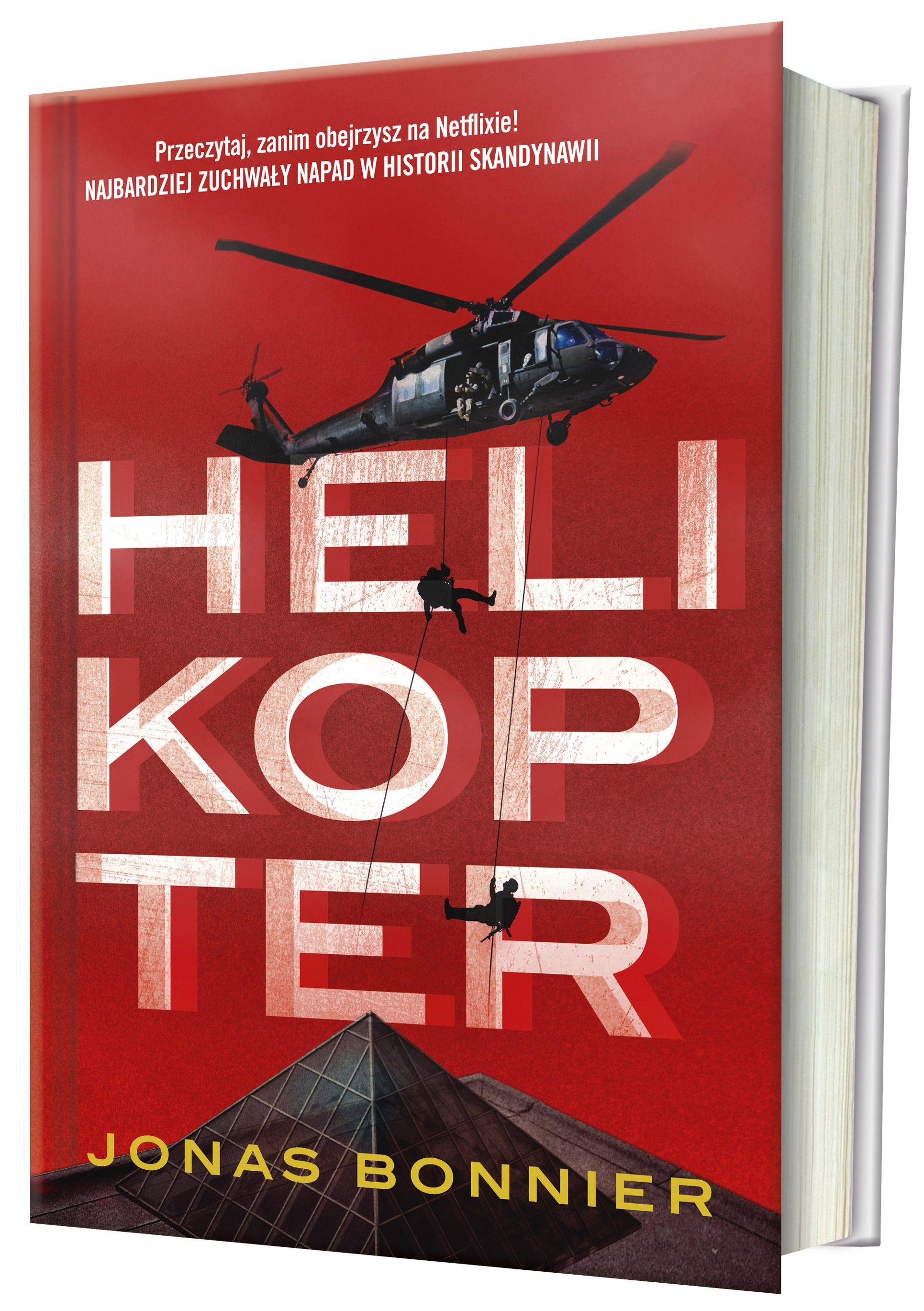 """Inspiracją do powstania artykułu była powieść Jonasa Bonniera """"Helikopter"""" (Znak 2018), powstała na kawie wielogodzinnych rozmów z ludźmi, którzy dokonali napadu stulecia."""