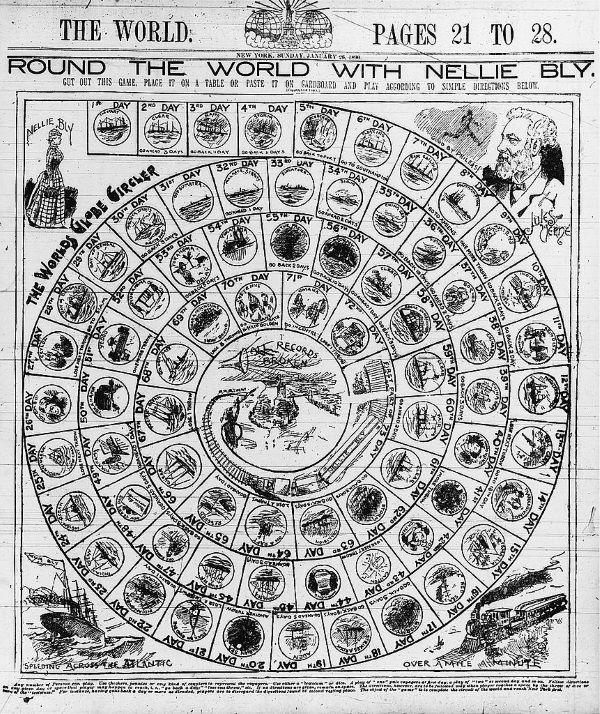 Dookoła świata z Nellie Bly (fot. domena publiczna)