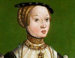 Elżbieta Habsburżanka na anonimowym portrecie