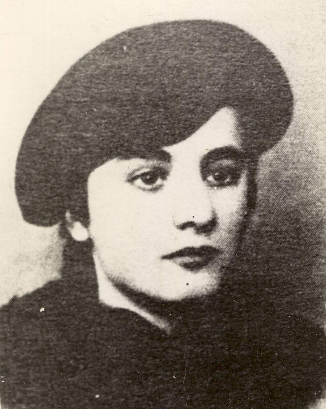 Lenuta Petrescu na zdjęciu z 1939 roku.