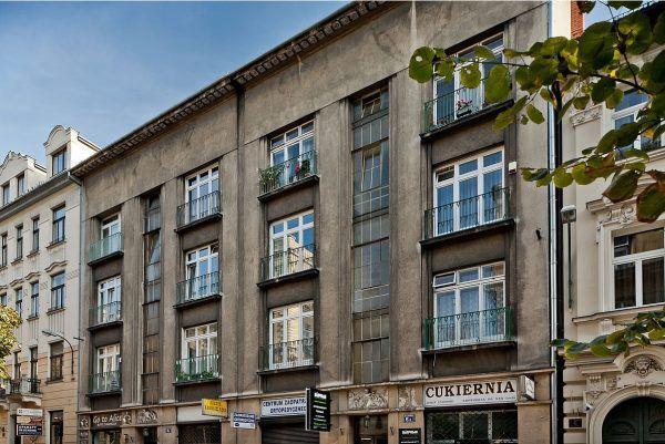Jedna z kamienic przy Batorego w Krakowie. To na tej ulicy przyjmował doktor Kurkiewicz.