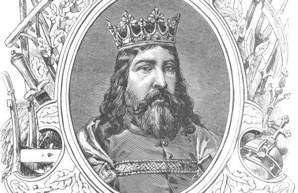 Kazimierz Wielki w wyobrażeniu Ksawerego Pilatiego. Ilustracja z końca XIX wieku
