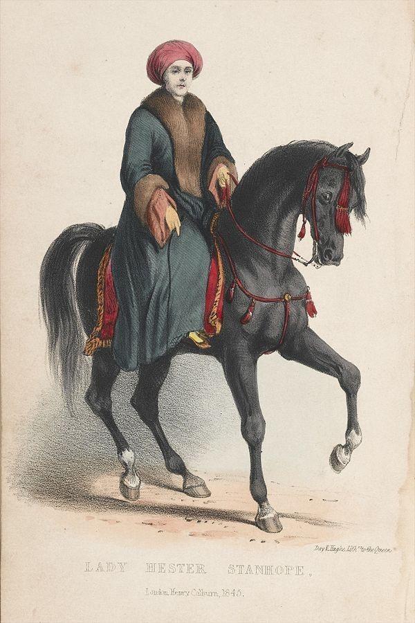 Lady Hester Stanhope (fot. domena publiczna)