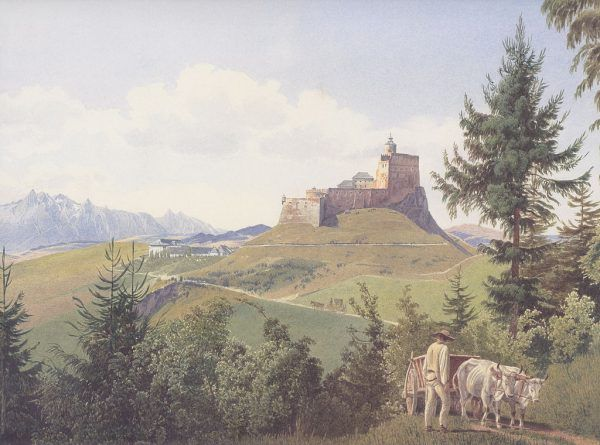 Opactwo Pannonhalma w połowie XIX wieku