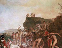Wśród odkrywców, którzy rozstali się ze światem w brutalny sposób był między innymi James Cook.