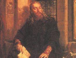 Władysław Biały w Dijon w wyobrażeniu Jana Matejki.